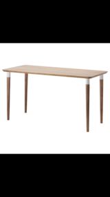 IKEA Hilver Bamboo Desk in Okinawa, Japan
