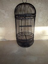 wrought iron bird cage in Yucca Valley, California