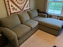Sectional/Chaise couch in Bolingbrook, Illinois