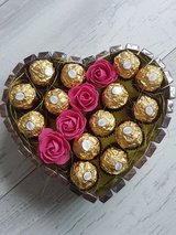 Gifts Heart Chocolates Ferrero Rocher Merci Birthday Wedding Geschenke Herz Pralinen Ferrero Roc... in Ramstein, Germany
