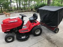 Troy Bilt Lawn Tractor w/sweeper REDUCED in Cherry Point, North Carolina