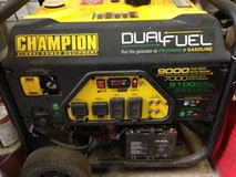 Champion Generator Dual fuel with electric start in Spring, Texas
