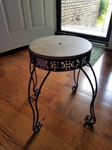 DIY: Black Metal Stool/Plant Stand in Fort Campbell, Kentucky