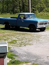 1973F100 in Fort Leonard Wood, Missouri