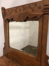 Vintage Hutch with Dresser in Fort Campbell, Kentucky
