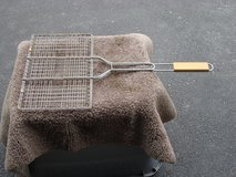 "9 "" BY 13 1/2 "" WIRE GRILL BASKET in Naperville, Illinois"