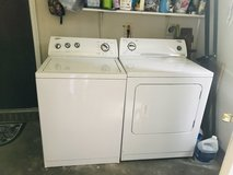 Washer and Dryer - Whirlpool in Camp Lejeune, North Carolina