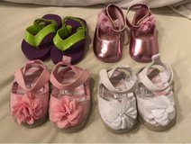 Baby Girl Shoes Lot in San Diego, California
