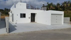 SINGLE HOUSE WITH OCEAN VIEW FROM THE ROOF TOP PATIO AND 5 MINS WALKING DISTANCE TO THE BEACH in Okinawa, Japan
