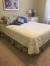 Queen size Bed skirt, curtains, pillow shams, and decorative pillows in Kingwood, Texas