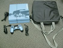 SONY PS4 CUH-1215A BLUE 500GB UNCHARTED CONSOLE BUNDLE TESTED CLEAN in Dover AFB, Delaware