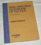 RARE Vintage 1998 Fire Officer's Handbook of Tactics 451 Page Hard Cover Coffee Table Book by Jo... in Joliet, Illinois