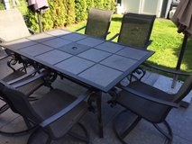 Patio table and 6/chairs in Wiesbaden, GE