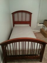 twin bed - wood frame only in Elgin, Illinois