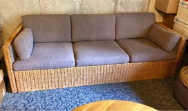 Wicker Sided & front Couch in Lockport, Illinois