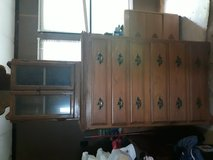 Dresser and a walnot chef in Kingwood, Texas