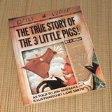 Vintage 1991 The True Story of the Three Little PigsHard Cover Book Age Range 5 - 8 in Yorkville, Illinois