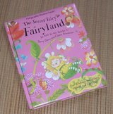 """Vintage 2002 Secret Fairy in Fairyland Hard Cover Book with """"Glittery"""" Holofraphic Stickers Age ... in Joliet, Illinois"""