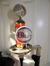 Blue Spark microphone in Fort Lewis, Washington