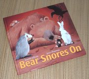 Vintage 2005 Bear Snores On Hard Cover Book Age Range 2 - 5 in Joliet, Illinois