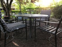 Patio Furniture Set.  Table and 4 Chairs in Naperville, Illinois