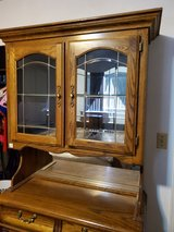 China Hutch w/lighted top glass cabinet in Alamogordo, New Mexico