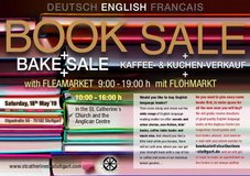 Books & Flea Market Sale! in Stuttgart, GE