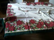 table cloth chrismas in Ramstein, Germany