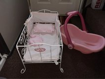 baby Annabelle cot and car seat in Lakenheath, UK