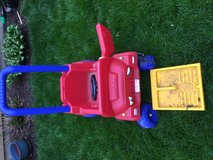 Fisher Price Ride/Push Jeep in Naperville, Illinois