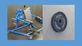 Pro gym shoulder machine with weights in Camp Pendleton, California