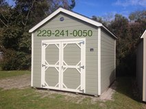 10x12 Storage Building Shed in Moody AFB, Georgia