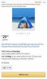 Baby Beach Tent in Camp Lejeune, North Carolina