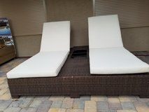 Patio Double Lounge Chair in Nellis AFB, Nevada