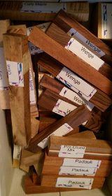 Woodcrafter's Exotic Wood (40+ Pcs) N15 in Houston, Texas
