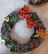 stunning handmade wreath in Lakenheath, UK