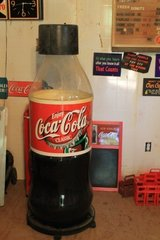 Coca Cola Ice cooler Bottle in DeRidder, Louisiana