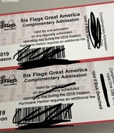 Great America Tickets in Yorkville, Illinois