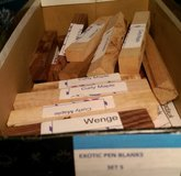 Woodcrafter's Exotic Wood (40+ Pcs) N11 in Houston, Texas