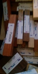 Woodcrafter's Exotic Wood BUY 1 GET 1 FREE N22 in Houston, Texas