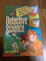 Detective science activity book in Okinawa, Japan