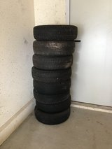 """8 Summer Tires on Rims 13"""" 165/70R in Ramstein, Germany"""