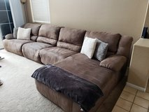 Microfiber 6 Piece sectional PLUS Oversized Recliner in Camp Pendleton, California