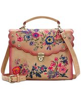 ***PATRICIA NASH***Prairie Rose Embroidery Simona Satchel*** in The Woodlands, Texas