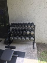 Home Gym, weight, Dumbbells in Fort Polk, Louisiana