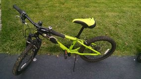"Kids bike 20""  (green, also available in blue) in Lockport, Illinois"
