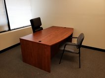 Desk and chair in Chicago, Illinois