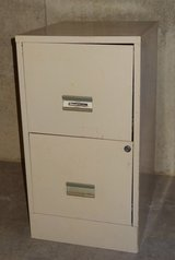 2-drawer metal file cabinet in Chicago, Illinois