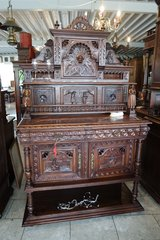 gorgeous Brittany credenza with ornate carvings in Spangdahlem, Germany