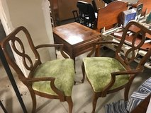Green chairs in Bolingbrook, Illinois
